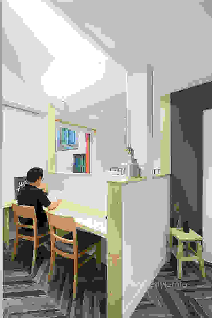 서재 모던스타일 서재 / 사무실 by 주택설계전문 디자인그룹 홈스타일토토 모던