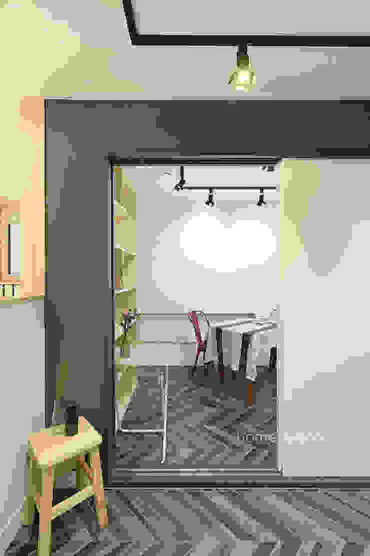 시나리오 창작공간 모던스타일 서재 / 사무실 by 주택설계전문 디자인그룹 홈스타일토토 모던