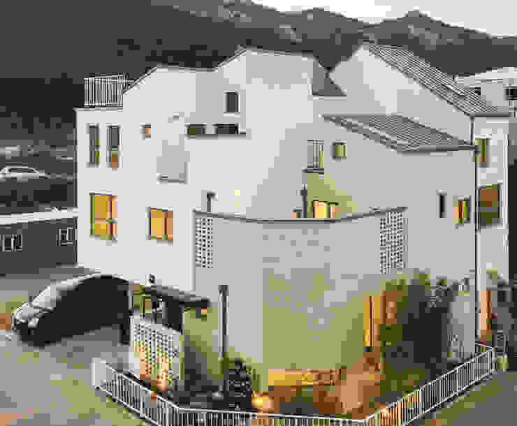 Houses by AAPA건축사사무소, Modern