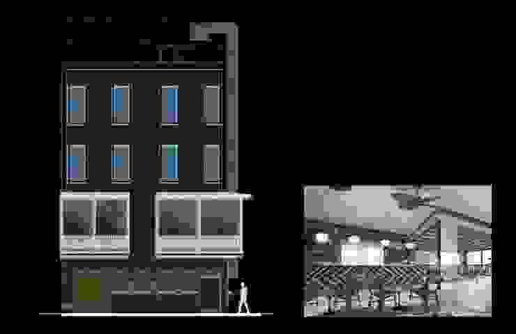 Salas de jantar modernas por simbiosis ARQUITECTOS Moderno