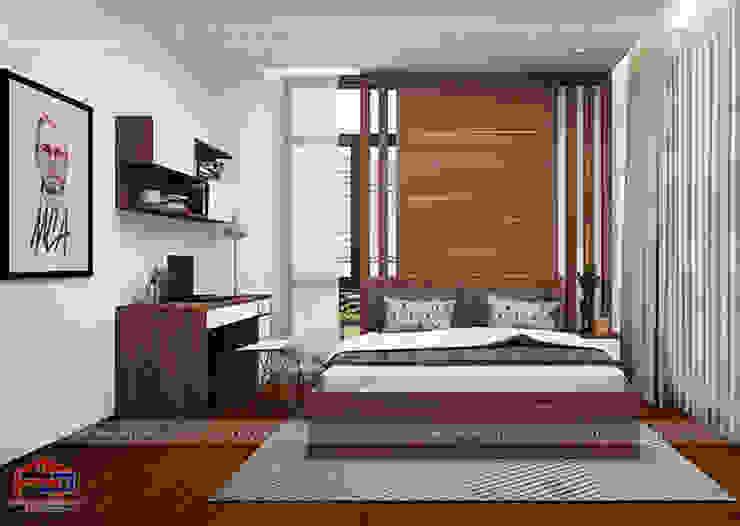 Thiết kế nội thất phòng ngủ của bé nhà anh Phương ở Thanh Hóa: hiện đại  by Nội thất Hpro, Hiện đại