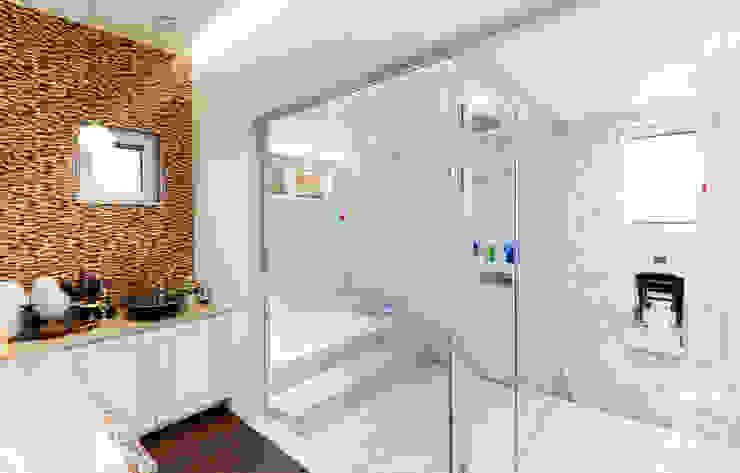 주택 내부 지중해스타일 욕실 by 더존하우징 지중해