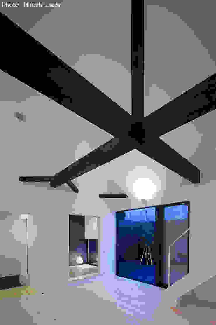 Phòng khách phong cách tối giản bởi 石川淳建築設計事務所 Tối giản Gỗ Wood effect