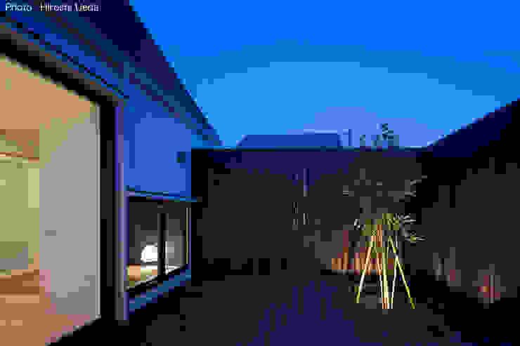 Taman Minimalis Oleh 石川淳建築設計事務所 Minimalis Kayu Wood effect