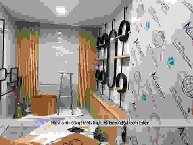 Thi công, lắp đặt nội thất gỗ laminate trong showroom: công nghiệp  by Nội thất Hpro, Công nghiệp
