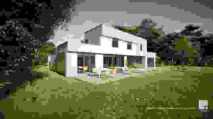 Diseño de casa Prototipo 240 en La Serena de Territorio Arquitectura y Construccion - La Serena Moderno