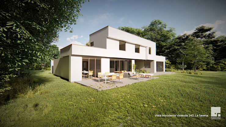 Single family home by Territorio Arquitectura y Construccion - La Serena, Modern