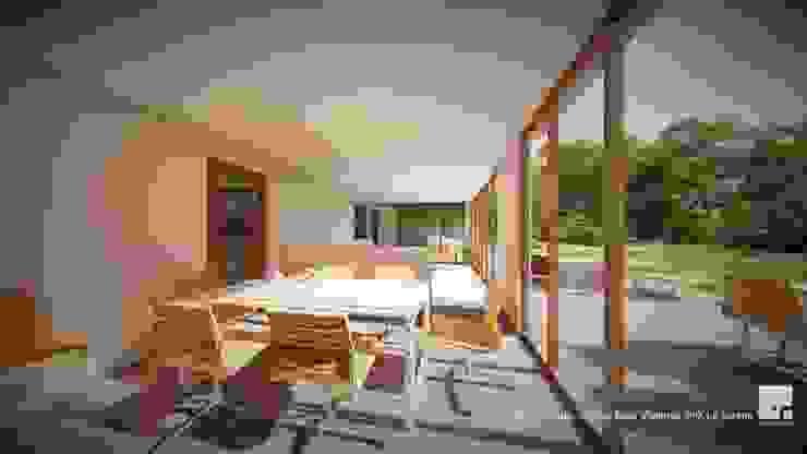 Diseño de casa Prototipo 240 en La Serena Comedores de estilo moderno de Territorio Arquitectura y Construccion - La Serena Moderno