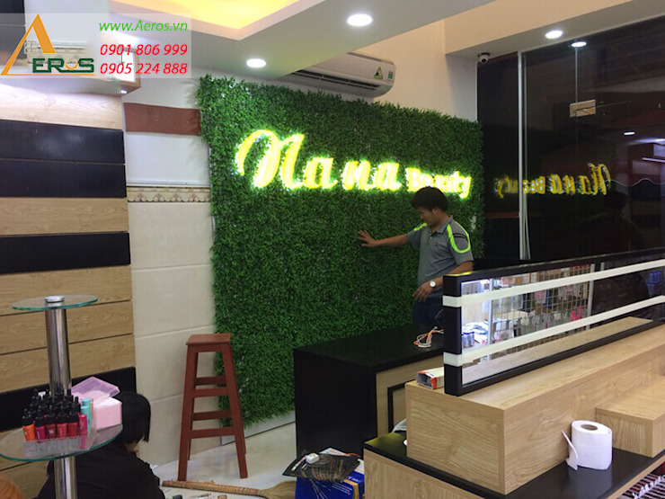Thiet ke shop my pham NaNa Beauty Thu Duc bởi xuongmocso1 Chiết trung