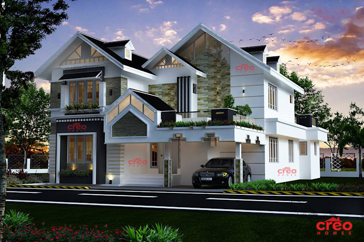 Architects in Cochin Asian style houses by Creo Homes Pvt Ltd Asian