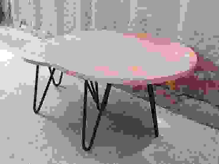 Modelo DUETTO de homify Ecléctico Madera Acabado en madera