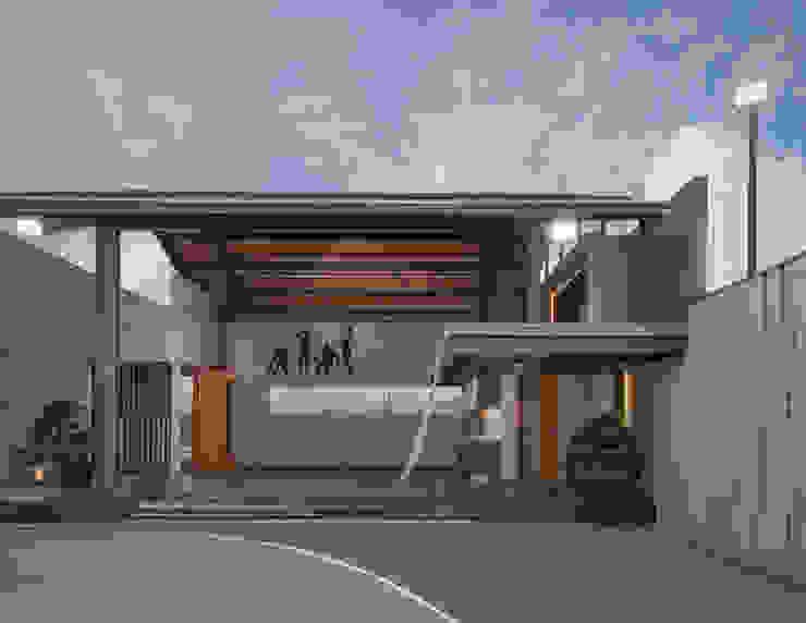 ETC House Ruang Olahraga Gaya Industrial Oleh Rakta Studio Industrial