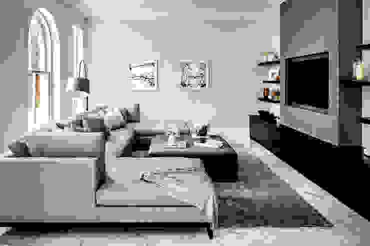 Salon moderne par Mark Hardy Moderne