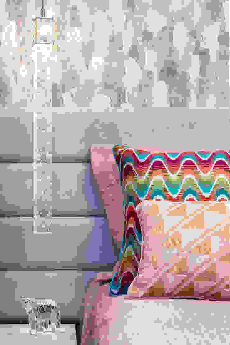 Arquitetura Sônia Beltrão & associados Modern Bedroom Purple/Violet