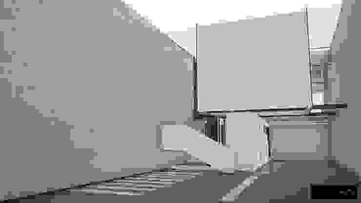 Oficinas y bibliotecas de estilo moderno de simbiosis ARQUITECTOS Moderno