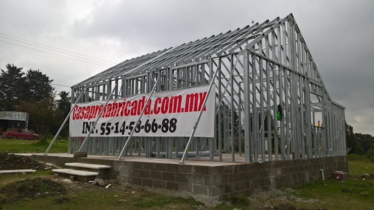 Oleh Casa Prefabricada en Mexico. Modern