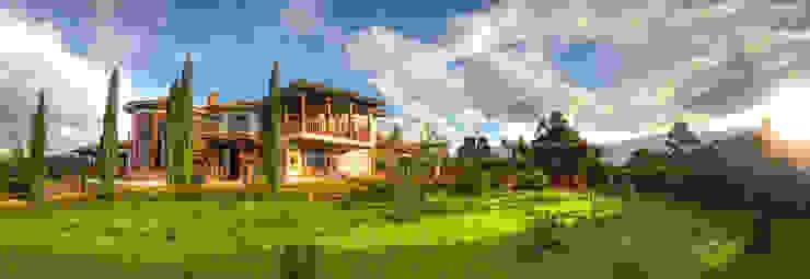 Casa Las Lomitas de cesar sierra daza Arquitecto Rústico Cerámico