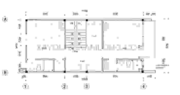 Thiết kế nhà đẹp 4 tầng bởi Thiết kế nhà đẹp ở Hồ Chí Minh Hiện đại