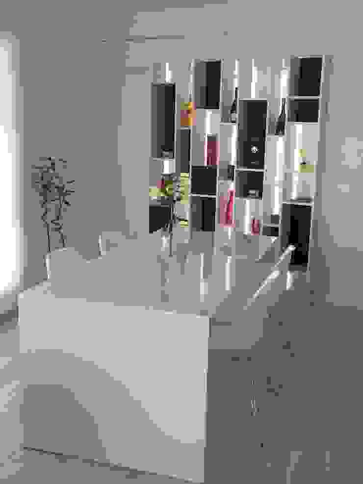 Living Salones minimalistas de Modulus Minimalista