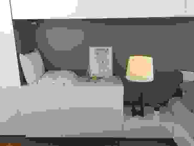 Minimalist bedroom by Modulus Minimalist