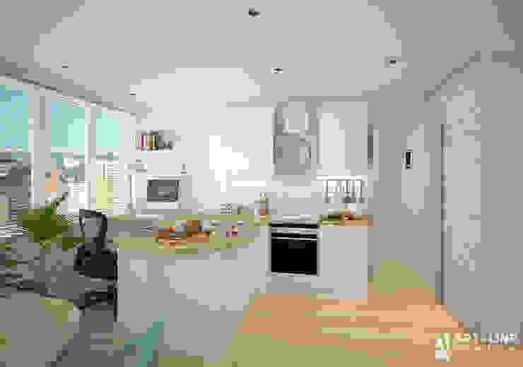 Art-line Design Scandinavian style kitchen White