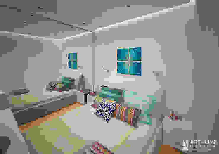 Art-line Design Small bedroom White