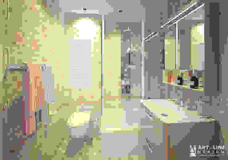Art-line Design Scandinavian style bathroom
