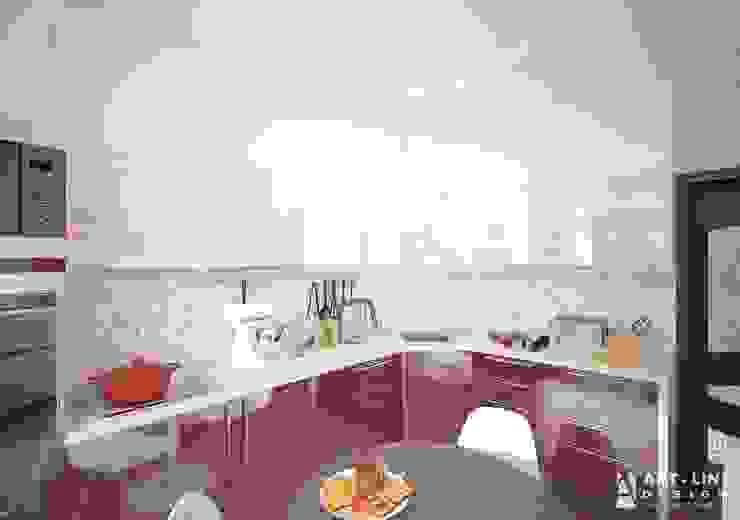 Art-line Design ห้องครัว Purple/Violet
