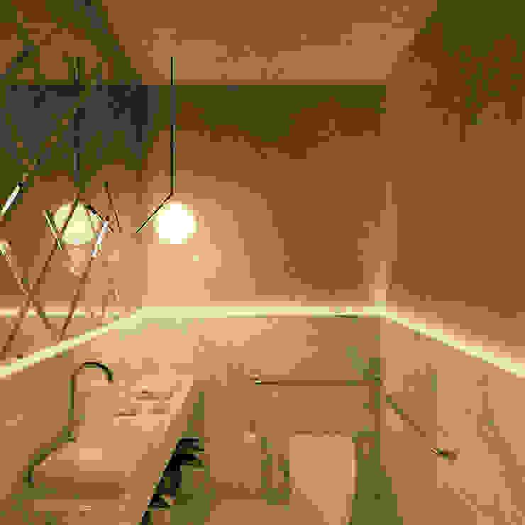 Banheiro Recepção | Design de Clínica Clínicas modernas por np Moderno Granito