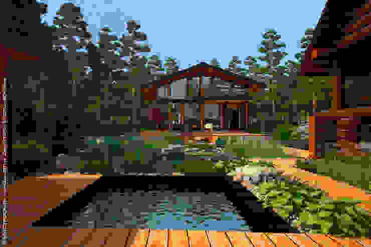 Мастерская ландшафта Дмитрия Бородавкина Pool Wood