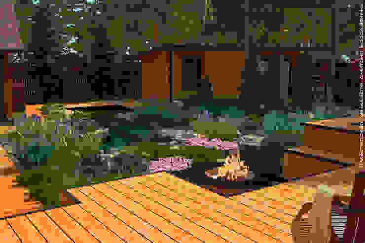 Утро в сосновом лесу Мастерская ландшафта Дмитрия Бородавкина Сад в скандинавском стиле