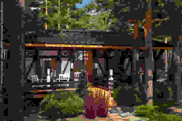 Мастерская ландшафта Дмитрия Бородавкина Scandinavian style garden Wood