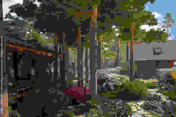 Мастерская ландшафта Дмитрия Бородавкина Scandinavian style garden