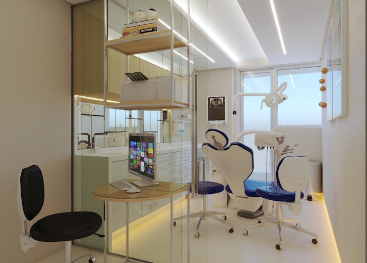 Modern clinics by np Modern Wood Wood effect