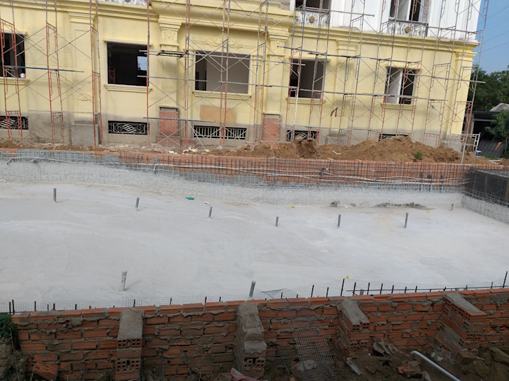 Swimmingpool construction in Ho Chi Minh - SEAPOOLVN - CEO NGUYEN DUNG by seapoolvn