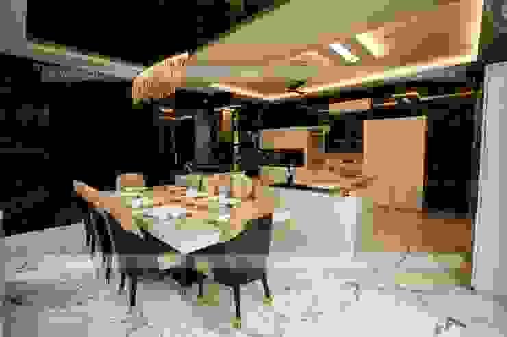 Interior Designers in Gurgoan Modern Dining Room by 7WD Interior Design Studio Modern