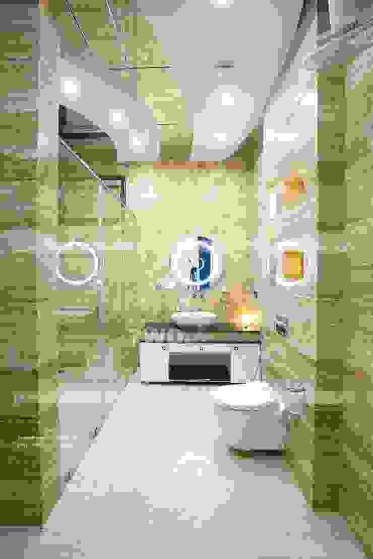 7WD Design Studio Baños de estilo moderno
