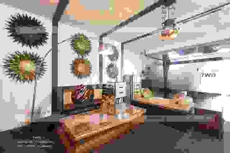 7WD Design Studio Salas de estilo moderno