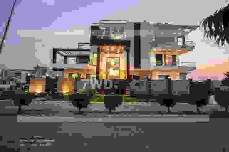 7WD Design Studio Paredes y pisos de estilo moderno