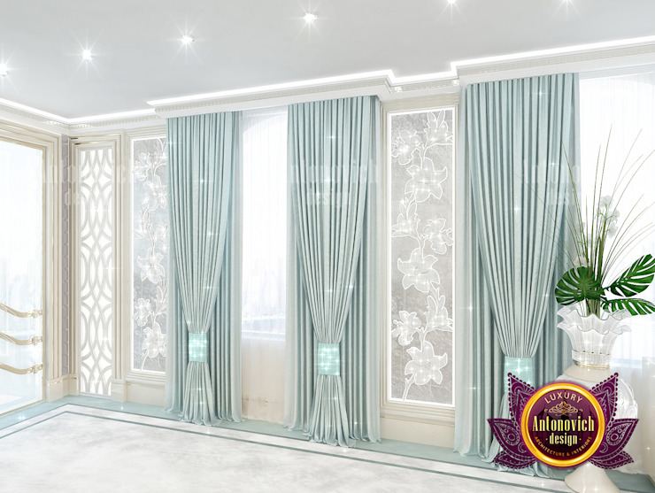 Extraordinary Greenish Blue Interior by Luxury Antonovich Design