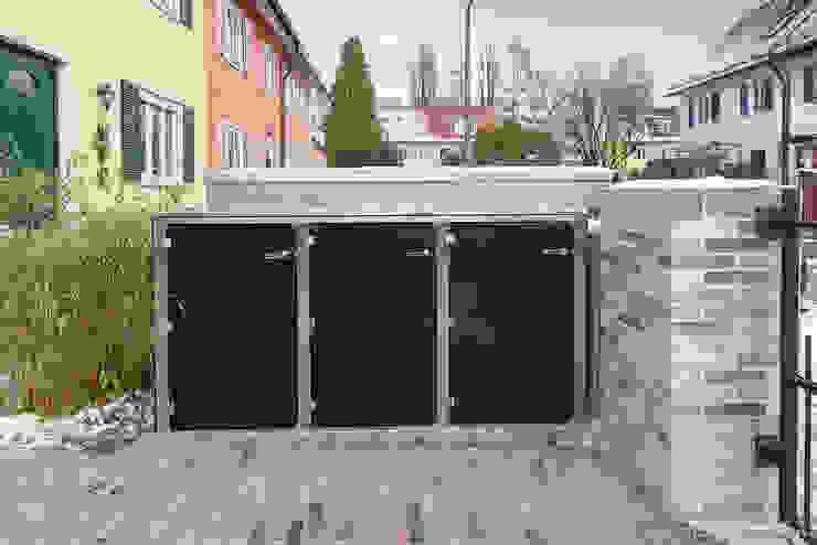 by design@garten - Alfred Hart - Design Gartenhaus und Balkonschraenke aus Augsburg Modern Wood-Plastic Composite