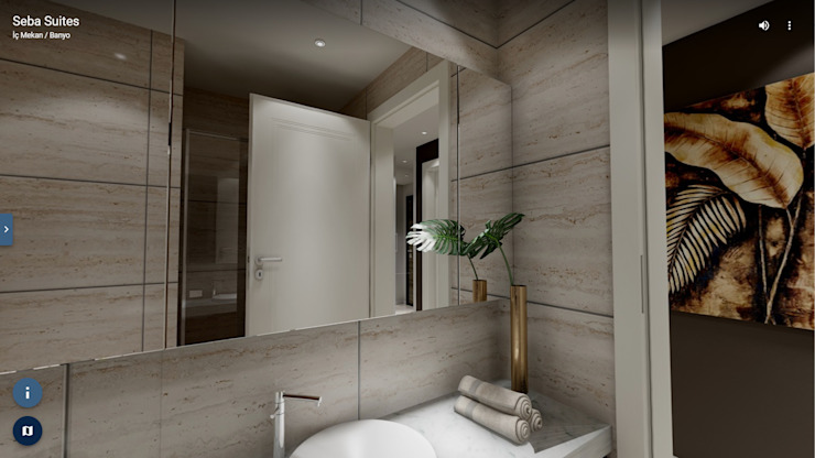 Modern bathroom by ELTA VR SOLUTIONS Modern