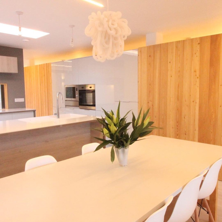 Dining area Dab Den Ltd Comedores modernos