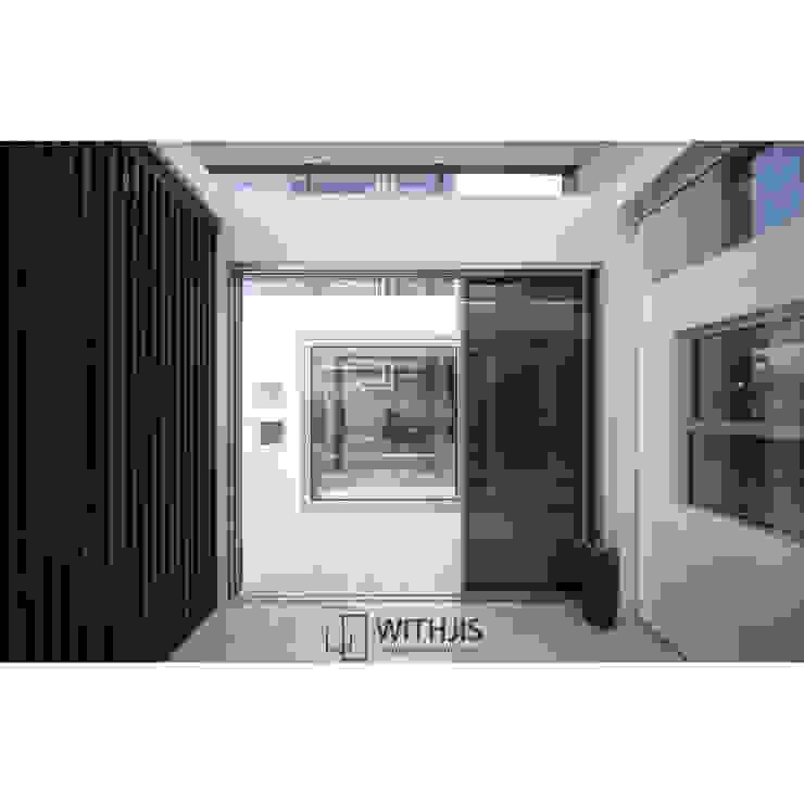 ALU-SD 1742, Telescopic(1FIX+2SD) 모던 스타일 전시장 by WITHJIS(위드지스) 모던 알루미늄 / 아연
