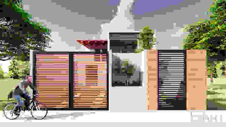 CASA SANTA CATARINA: Casas de estilo  por GóMEZ arquitectos,