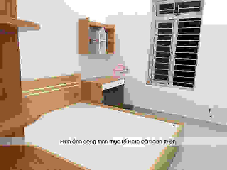 Ảnh thực tế góc học tập của bé nhà chị Hiền ở Xuân Trường - Nam Định: hiện đại  by Nội thất Hpro, Hiện đại