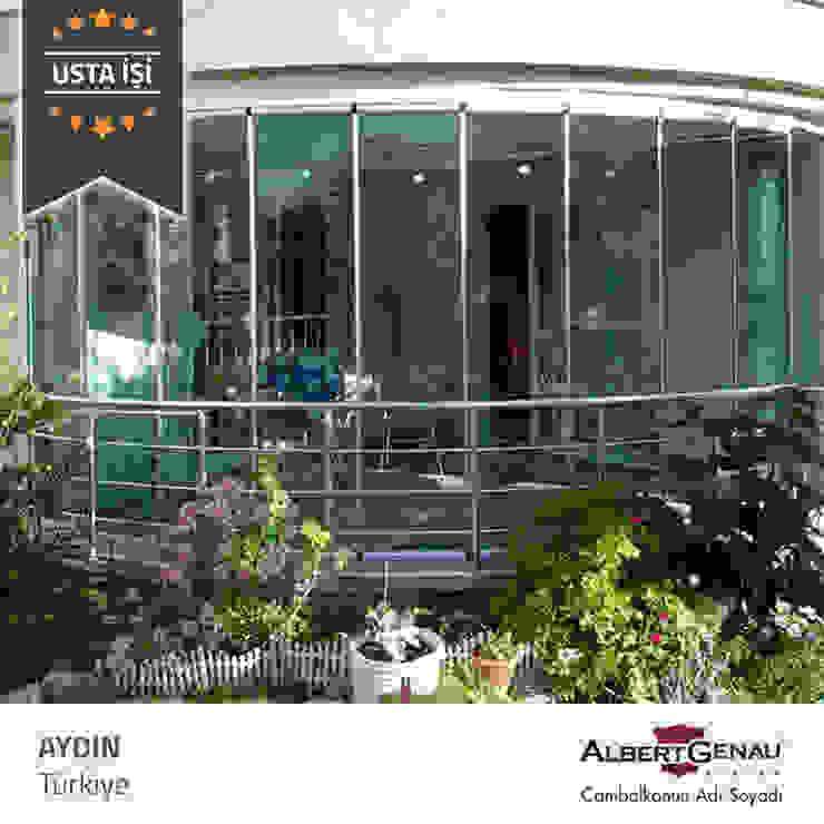 Modern conservatory by Albert Genau Modern