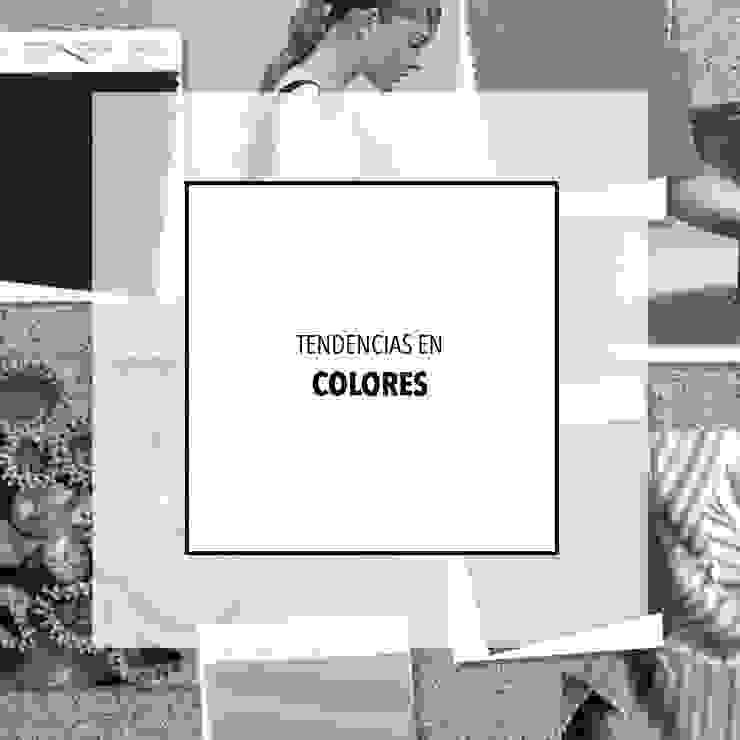 | TENDENCIAS EN COLORES |: Hogar de estilo  de RR Estudio Interiorismo en Madrid