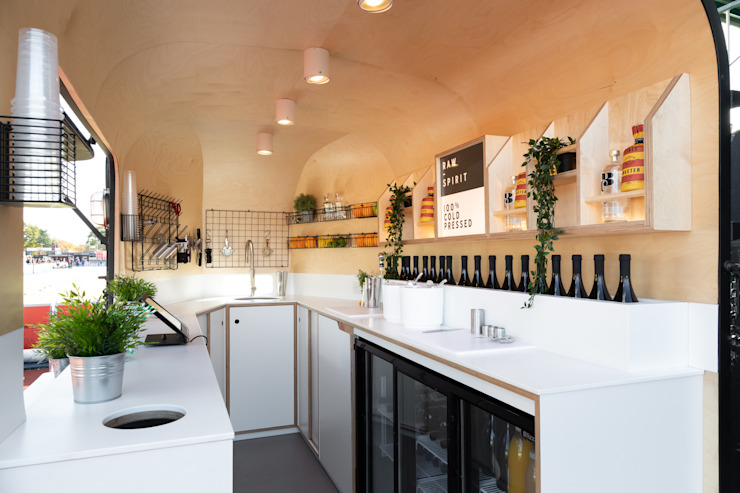 Modern bars & clubs by Shape London Modern