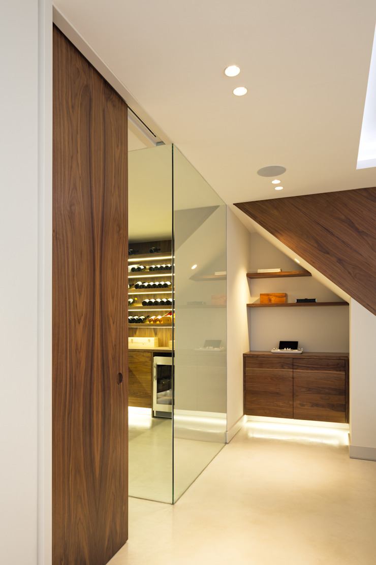 The Sunken Room Modern wine cellar by Shape London Modern